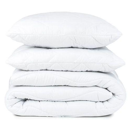 4-home Zestaw kołdry i poduszki całoroczny, 200 x 220 cm, 2 szt. 70 x 90 cm (8595248426337)