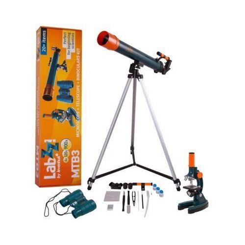 Zestaw LEVENHUK LabZZ MTB3 z mikroskopem, teleskopem i lornetką DARMOWY TRANSPORT (0611901504889)