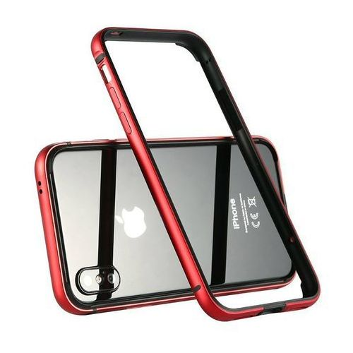 Etui Benks Aegis Bumper iPhone X Red, kolor Etui