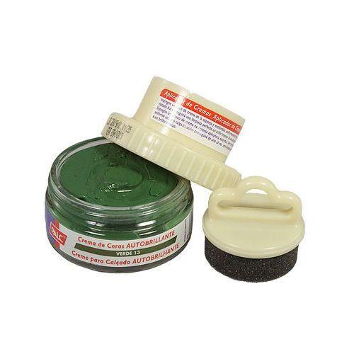 PALC pasta słoik 50 ml ciemnozielony, pasta samopołyskowa w kremie z aplikatorem - Zielony