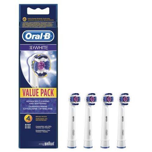 Oral-b końcówki do szczoteczki elektrycznej 3d white 4szt (eb 18-4) (4210201094562)