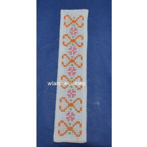 Zakładka haftowana ręcznie (bw-10)