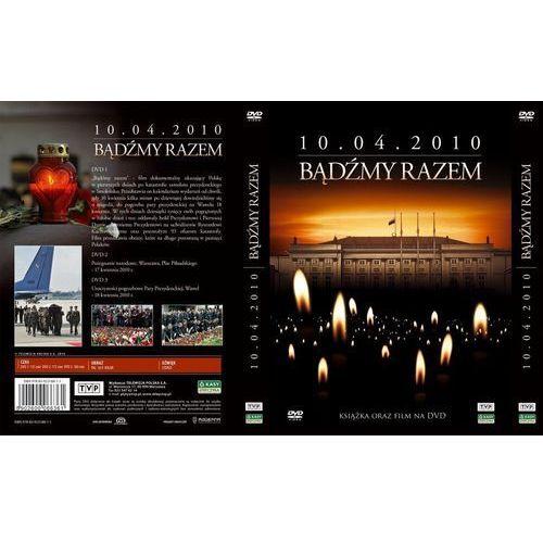 Telewizja polska Bądźmy razem. 10.04.2010 r. (3 dvd + książka)