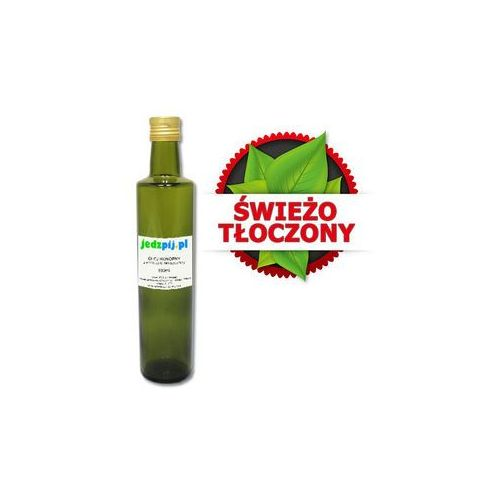 OLEJ KONOPNY 500 ml - ŚWIEŻO TŁOCZONY (Oleje, oliwy i octy)