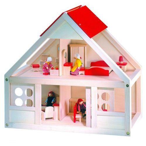 BINO Domek dla lalek, 26 elementów (domek dla lalek)