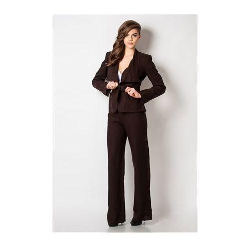 Max Mara - garnitur brązowy - produkt z kategorii- garsonki i kostiumy