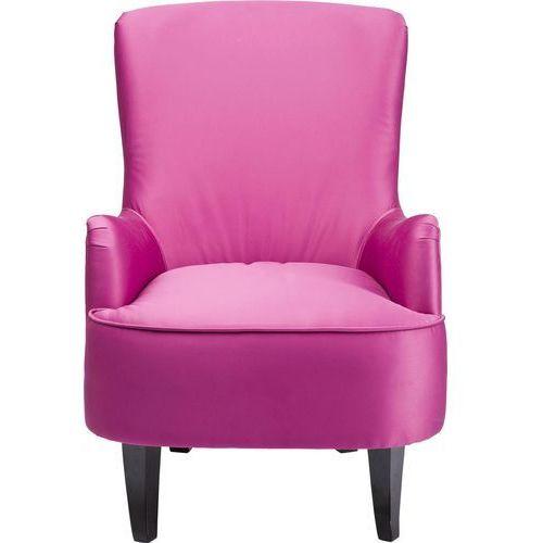 Boudoir Fuchsia Fotel Różowy Tkanina Drewno Sosnowe - 78839, marki Kare Design do zakupu w sfmeble.pl