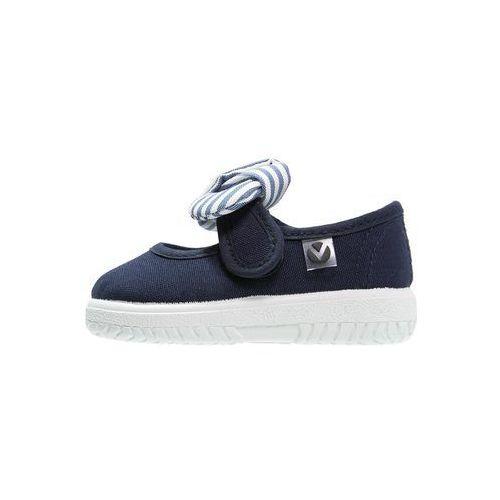 Victoria Shoes LONA PANUELO Baleriny z zapięciem marino - produkt dostępny w Zalando.pl