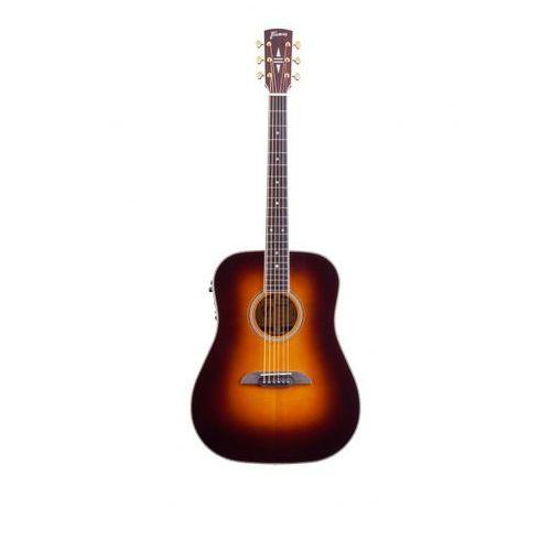 Framus fd28 n, nashville dreadnought, eq, vintage transparent sunburst high polish gitara elektroakustyczna