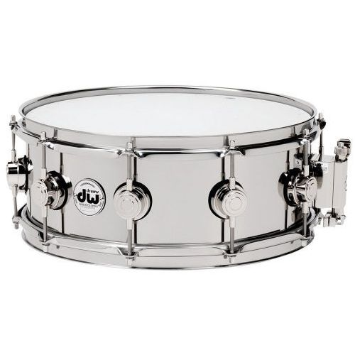 snaredrum stainless steel 14x6,5″ marki Drum workshop