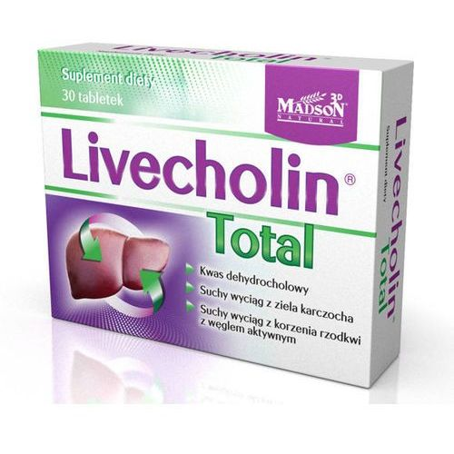 Livecholin Total x 30 tabletek