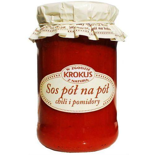 193krokus Sos pół na pół chili i pomidory 340g - krokus