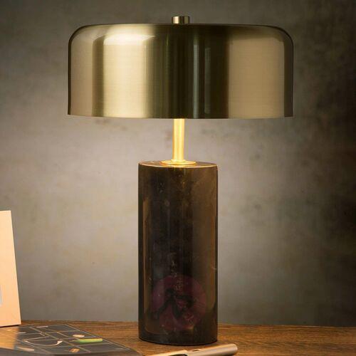 Lucide mirasol 34540/03/30 lampa stołowa lampka 3x7w g9 czarny/satynowy mosiądz