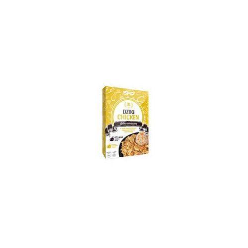 SFD NUTRITION Dziki Chicken - Kurczak w sosie musztardowym z kaszą jęczmienną i marchewką 300g