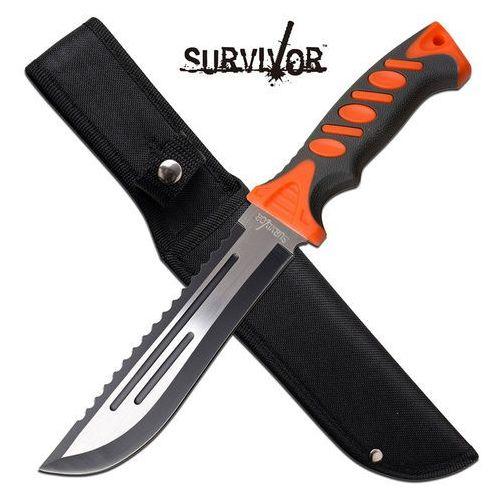 Usa Duży nóż ostrze stałe survivor 30cm sv-fix004st