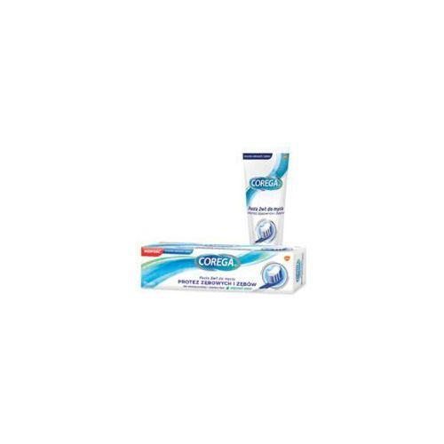 Glaxosmithkline Corega pasta 2w1 do mycia protez zębowych i zębów 75ml