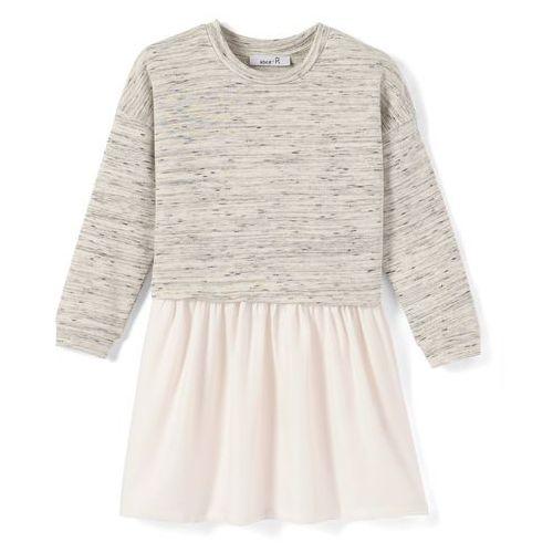 La redoute collections Wzorzysta rozkloszowana sukienka, półdługa