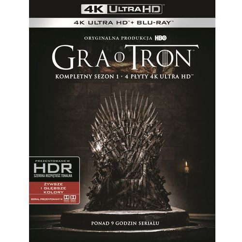 Gra o tron, sezon 1 (4bd 4k) (płyta bluray) marki Warner bros