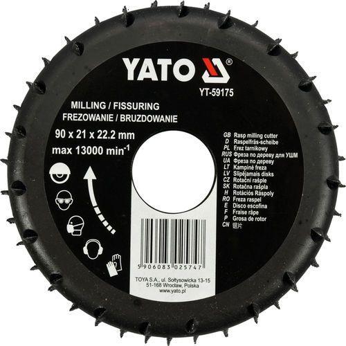 Yato Frez tarnikowy do drewna 90mm / yt-59175 /  - zyskaj rabat 30 zł