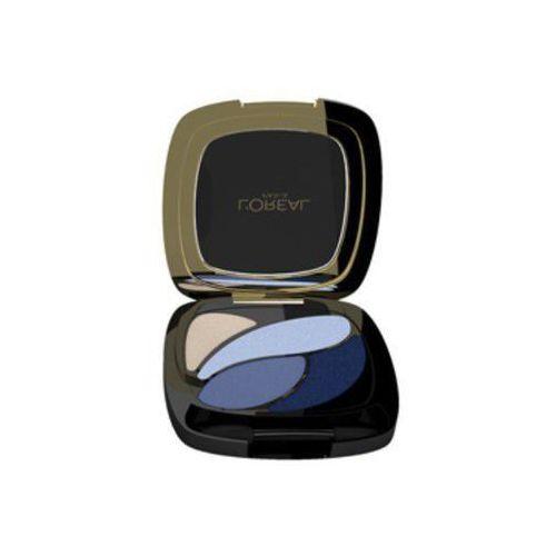 L'oréal poczwórne cienie color riche quad - e8 eternal blue - 2,5 g (3600522203599)
