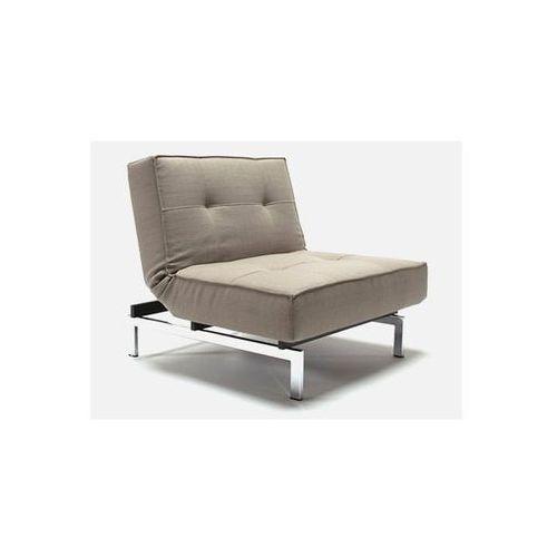 Fotel Splitback szary 216 nogi chromowane  741011216-741011-0-2, marki INNOVATION iStyle do zakupu w sfmeble.pl