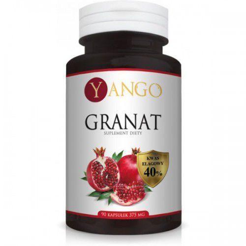 Granat ekstrakt ze skórki 50:1 ( 40% kwas elagowy ) 90 kaps. YANGO