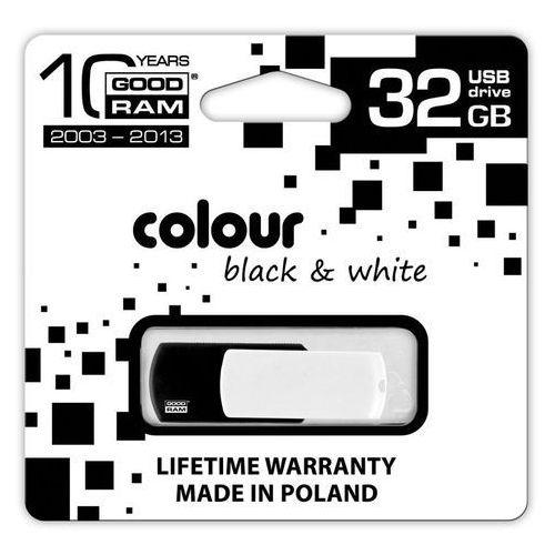 PENDRIVE GOODRAM COLOUR BLACK&WHITE 32GB Retail 9, kup u jednego z partnerów