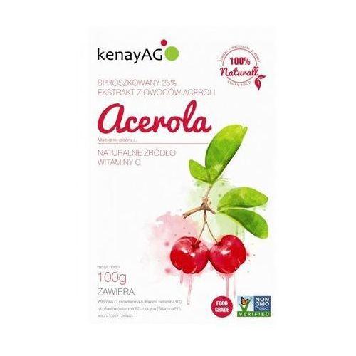 Acerola - sproszkowana-ekstrakt 100g (5900672151961)
