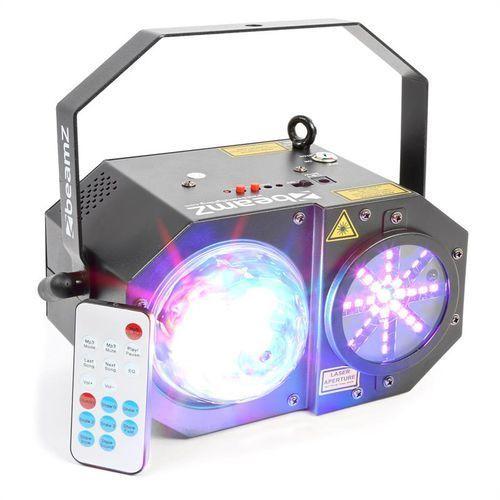 sway laser kropkujący led rgbw rg 150mw marki Beamz