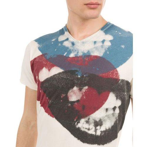 Pepe Jeans T-shirt męski Smile XXL kremowy (8434341528152)