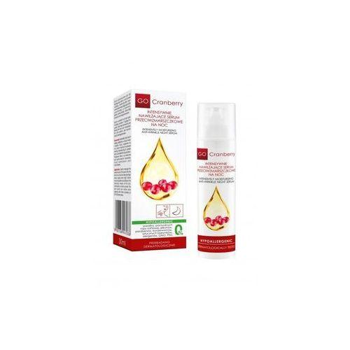 Intensywnie nawilżające serum przeciwzmarszczkowe na noc GoCranberry 30 ml