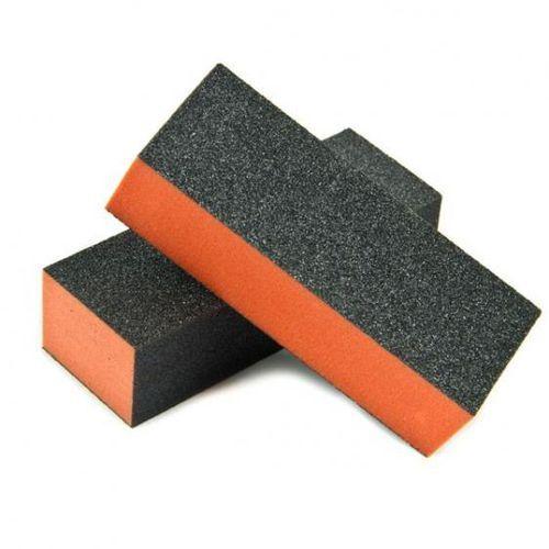 Blok do paznokci trójstronny pomarańczowy 100/100 - produkt z kategorii- pilniki i polerki do paznokci