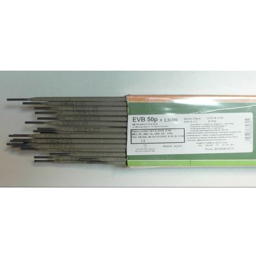 ELEKTRODY ZASADOWE EVB 50p FI 2,5MM - produkt z kategorii- akcesoria spawalnicze