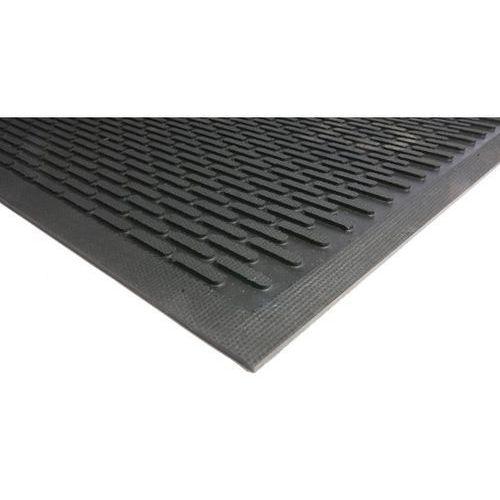 Mata wychwytująca brud, guma, czarna, dł. x szer. 3000x850 mm. solidny chlapacz. marki Coba plastics