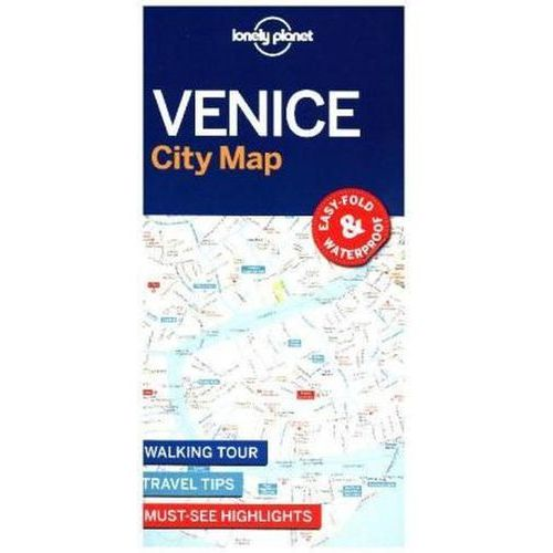 Lonely Planet Venice City Map (9781786575005)