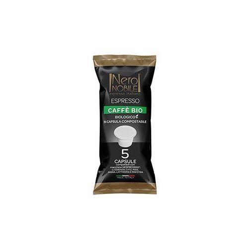 Nero nobile Kapsułki do nespresso* caffe bio 5 kapsułek - do 12% rabatu przy większych zakupach oraz darmowa dostawa (8033993874893)