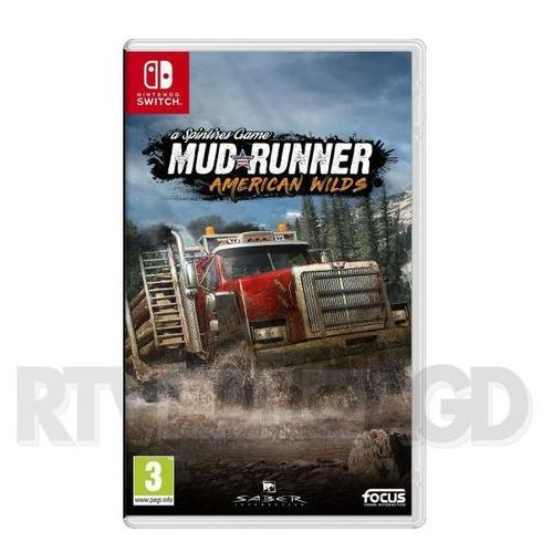 Focus home interactive Spintires: mudrunner - american wilds edition (3512899120891)