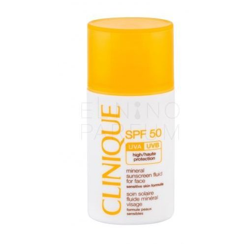 Clinique Sun Care Mineral Sunscreen Fluid For Face SPF50 preparat samoopalający do twarzy 30 ml dla kobiet