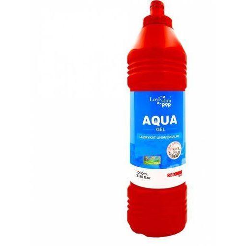 Lovestim Aqua gel lubrykat uniwersalny 1000ml lovesim pop (5903268071056)