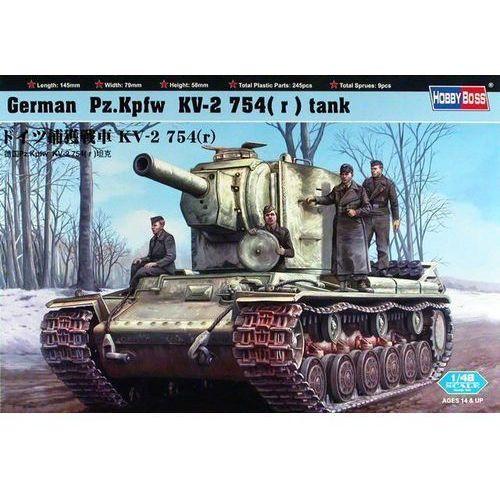 german pz.kpfw kv-2 754(r) marki Hobby boss