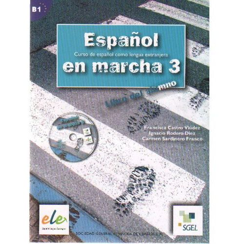 Espanol en marcha 3 podręcznik z płytą CD, Franco Carmen Sardinero