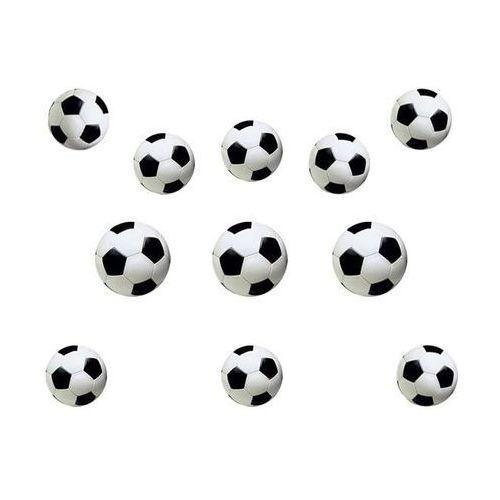 Dekoracja ścienna Piłka nożna - 12 elem.