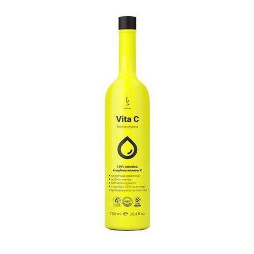 Duolife , vita c 100%, naturalna lewoskrętna, płyn doustny, 750ml - długi termin ważności! darmowa dostawa od 39,99zł do 2kg! (5904213000787)