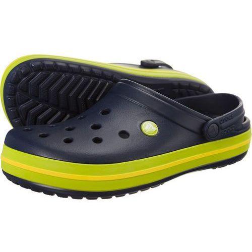 Crocs Chodaki crocband navy volt green lemon