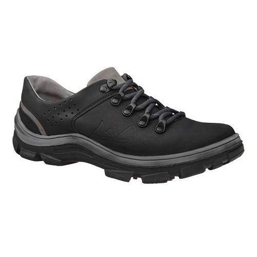 Kornecki Półbuty buty trekkingowe 5329 czarne - czarny