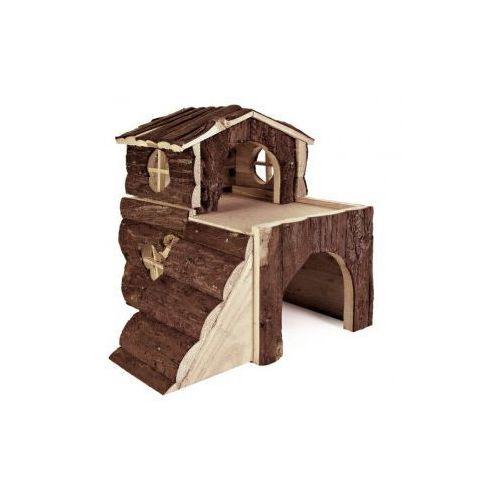 Domek drewniany dla gryzoni Bjork Rozmiar:15 × 15 × 16 cm (klatka dla gryzoni) od NaszeZoo.pl - Sklep dla Zwierzaka!