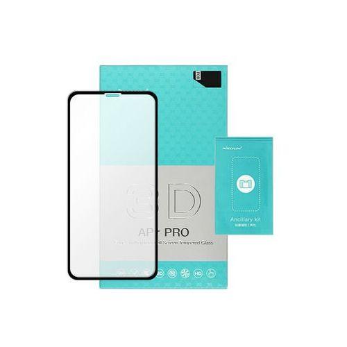 Apple iphone xs max - szkło hartowane amazing ap+ 3d pro - czarne marki Nillkin