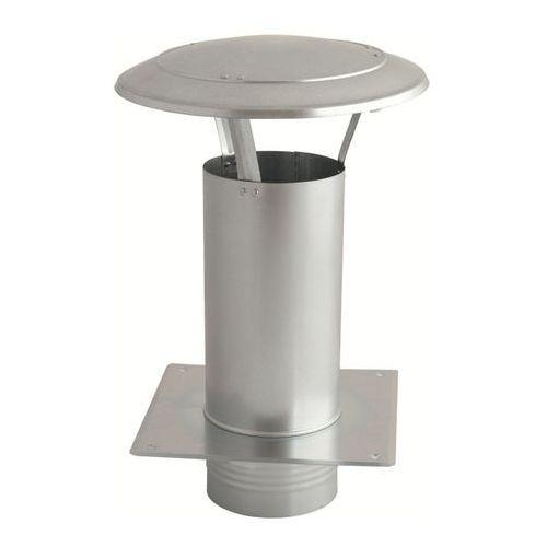 Daszek wywietrznikowy (wywietrzak) 150mm z podstawą (WDA150-OC) (5907803626510)
