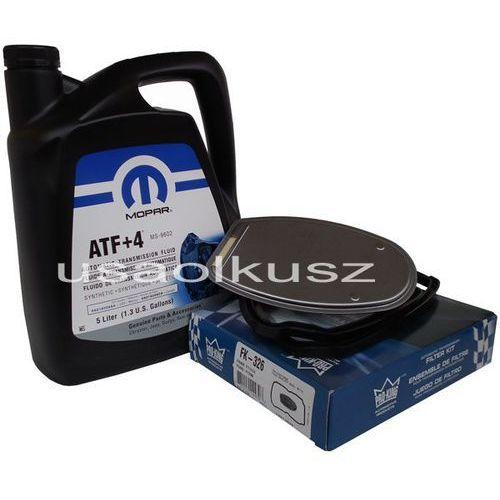 Olej atf+4 oraz filtr automatycznej skrzyni biegów nag1 jeep liberty 2008- marki Mopar