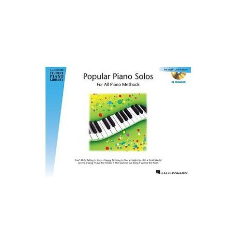 Hal Leonard Student Piano Library: Popular Piano Solos. 2nd Edition. Prestaff + CD (9781480352476)